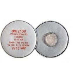 Filtry 3M 2138 przeciwpyłowe