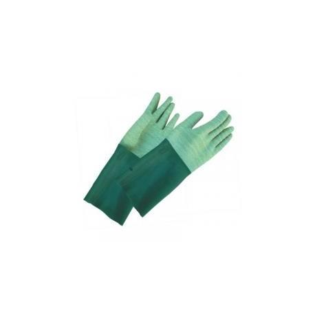 Rękawice kwasoodporne szorstkowane