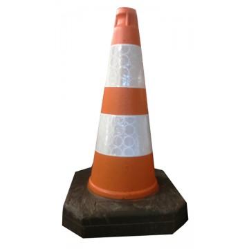 Pachołek drogowy ostrzegawczy 50cm