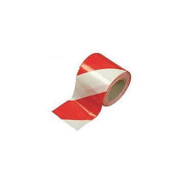 Taśma ostrzeg.biało-czerwona 100m