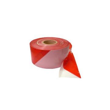 Taśma ostrzeg.biało-czerwona 500mb