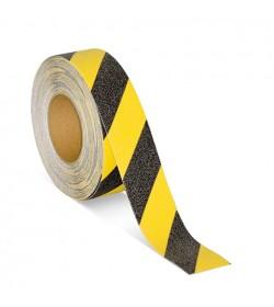 Taśma antypoślizgowa żółto-czarna 50mm/18m