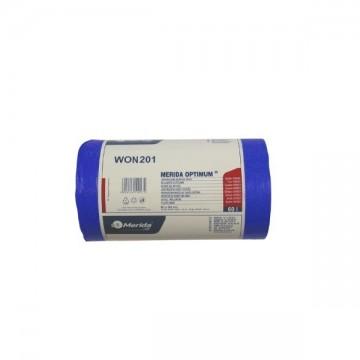 MERIDA Worki na odpady 60x90 poj.70L,50 szt niebieskie