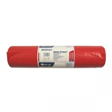 MERIDA Worki na odpady 70x110 poj.120L,50szt czerwone