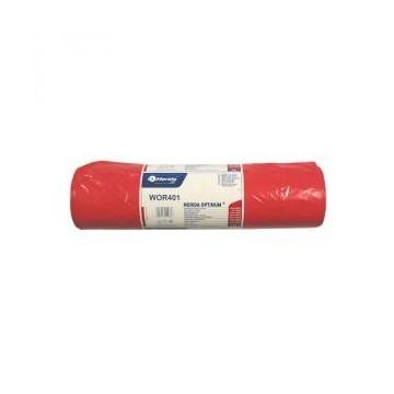 MERIDA Worki na odpady 90x110 poj.160L,25szt czerwone